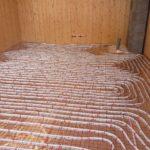 ogrzewanie podłogowe zaawansowane etapy pracy