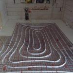 ogrzewanie podłogowe zaawansowane etapy pracy łazienka