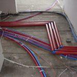 Instalacje wodno-kanalizacyjne etapy pracy