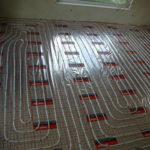 ogrzewanie podłogowe zaawansowane prace