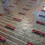 ogrzewanie podłogowe etapy pracy